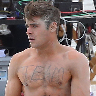 Zac Efron in His Underwear on the Set of Dirty Grandpa