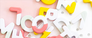 How to Turn Alphabet Magnets Into Chic Decor
