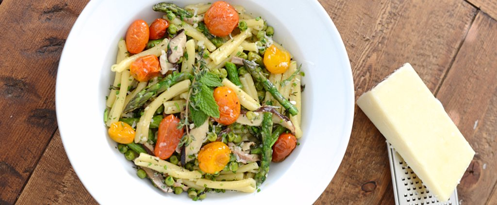 A Colorful Springtime Pasta Recipe