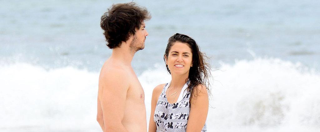 Ian and Nikki Heat Up Their Honeymoon With Sweet PDA