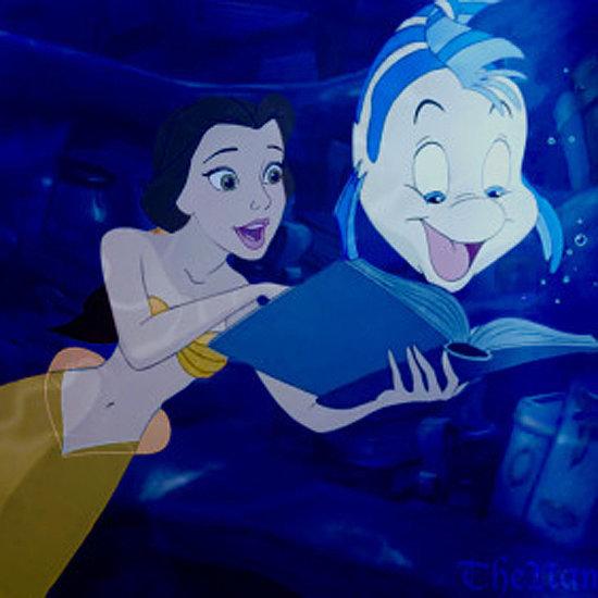 Disney Princesses as Mermaids GIFs
