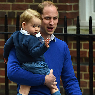Prince George Arrives at the Hospital!