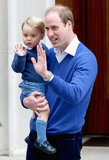 Prince George Arrives at the