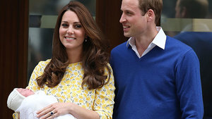 Prince William & Kate Middleton Debut Baby Girl -- See the First Pics of the New Princess!