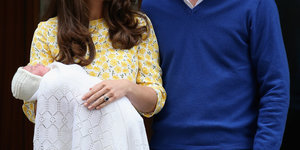 See The First Photos Of The New Royal Baby