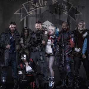 Suicide Squad Official Group Picture