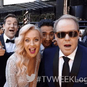 GIFs of Australian Celebrities at 2015 TV Week Logie Awards