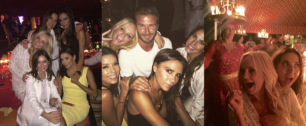 The Spice Girls Tear It Up at David Beckham's B-Day Bash!