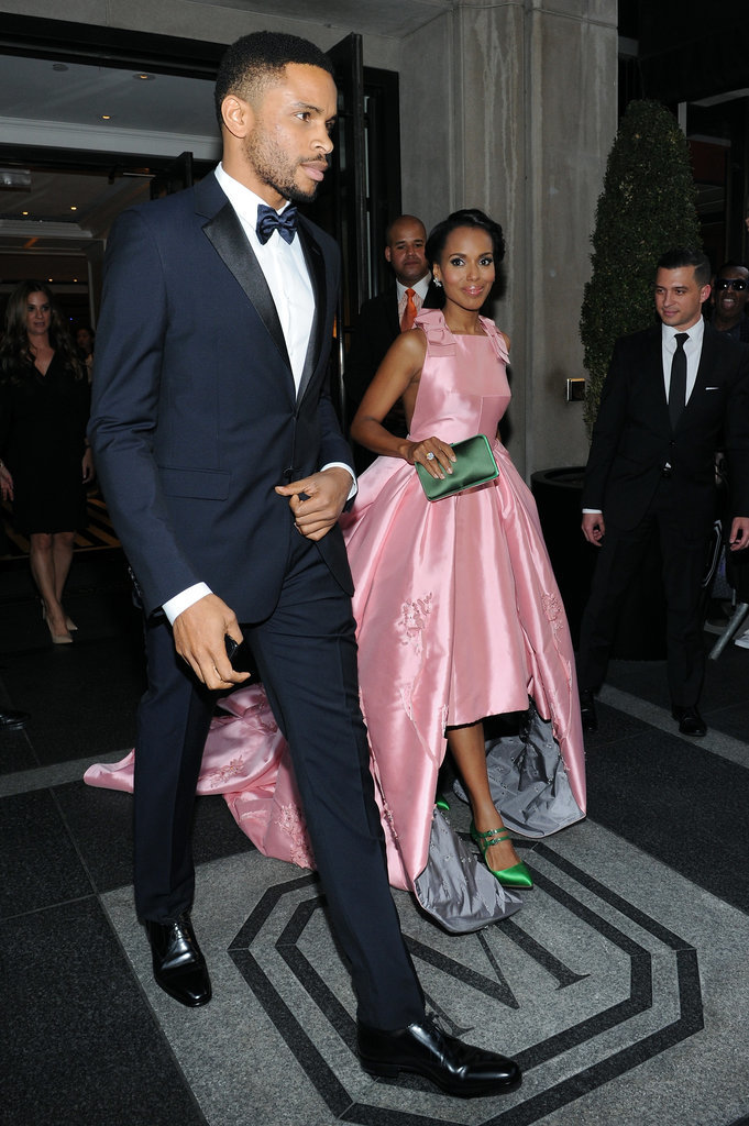 Kerry Washington and Nnamdi Asomugha Use the Met Gala as an Adorable Date Night