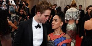 Robert Pattinson And FKA Twigs Make Their Red Carpet Debut