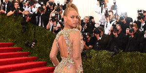 Beyoncé's Met Gala 2015 Dress Is Barely There