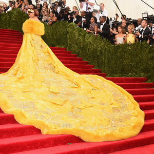 Pictures of Celebrities on 2015 Met Gala Staircase