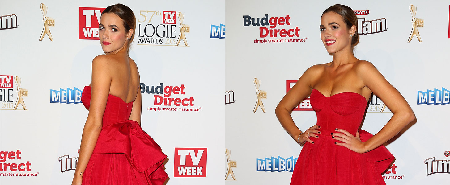 The Secret to Winning the Celebrity Gold Logies Glow