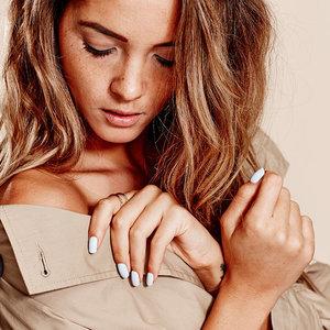 Aisha Jade White Coat Nail Polish Campaign