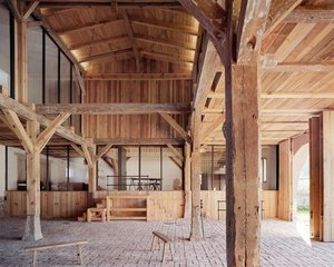 Before and After: A Renovated Barn Just Outside of Berlin
