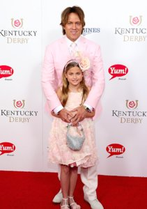 Larry Birkhead & Dannielynn Attend Kentucky Derby