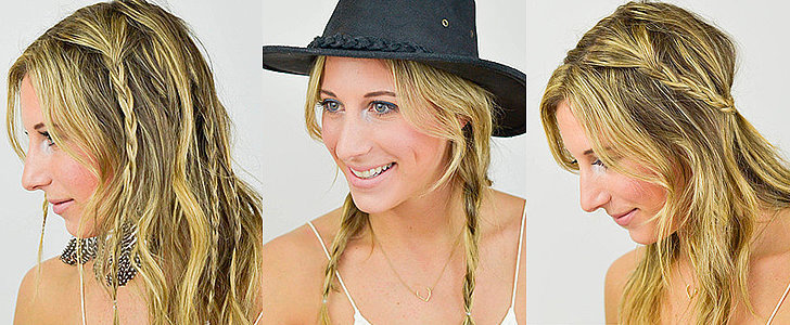 4 Easy Hairstyles That Work Best on Second-Day Festival Hair
