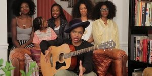 Lauryn Hill's Acoustic Version Of 'Doo Wop (That Thing)' Is The Best Home Video