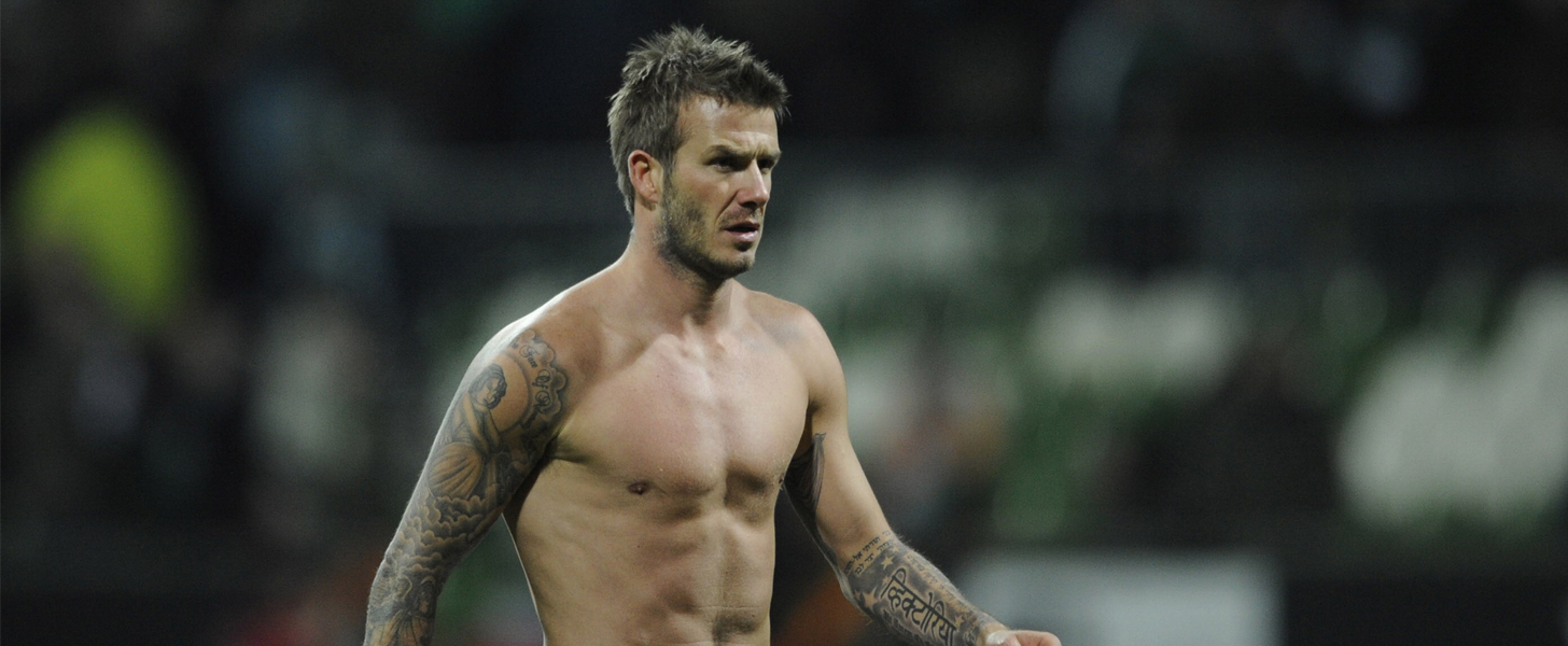 13 Shirtless David Beckham Moments That Will Give You Life