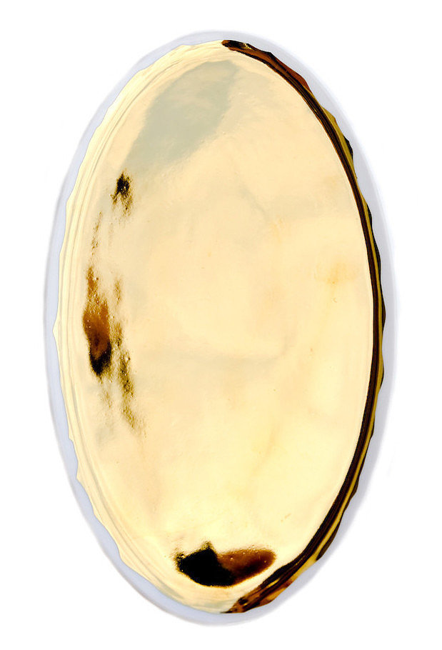 For the mom who loves a little glitz, this Gold Glazed Porcelain Platter ($42) is perfect!