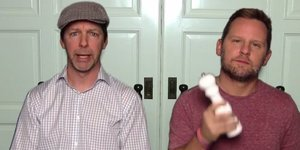 Sean Hayes And Scott Icenogle Lip-Sync LunchMoney Lewis' 'Mama' And Get Us Ready For Mother's Day
