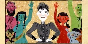 Google Doodle Honors Pioneering Journalist Nellie Bly For Speaking Up 'For The Ones Told To Shut Up'