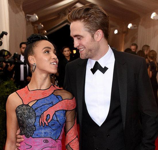 FKA twigs & Robert Pattinson at the 2015 MET Gala