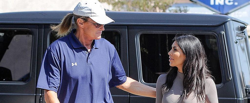 Watch Bruce Jenner and Kim Kardashian's Sweet Bonding Moment