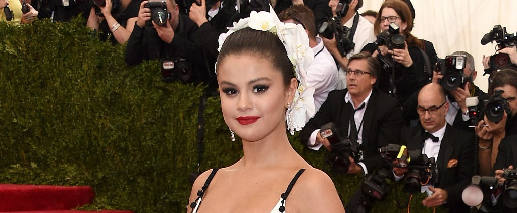 This Is How You Get Selena Gomez's Met Gala Updo and Red Lips