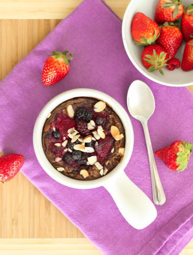 Baked Berry Oatmeal - Eat Spin Run Repeat