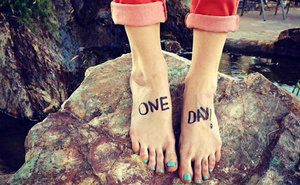 New TOMS Campaign: Instagram Your Bare Feet to Help a Child in Need