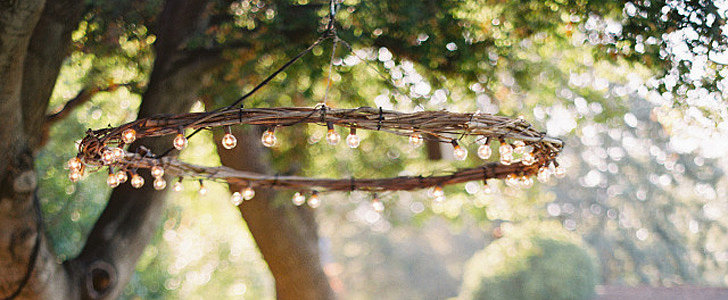 How to Make a Chandelier Out of Branches