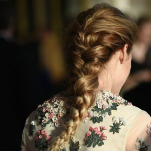 Olivia Palermo Long French Braid