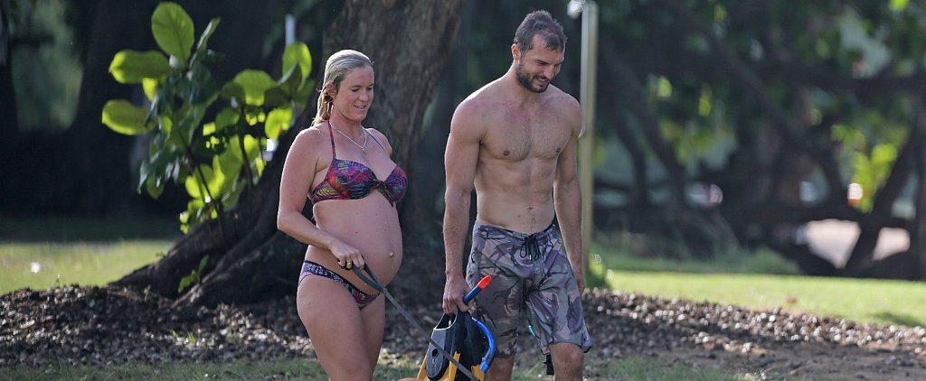 Bethany Hamilton Shows Off Her Baby Bump During a Family Beach Day