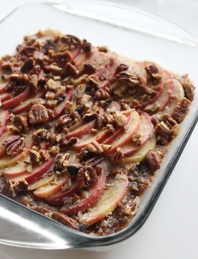 Gooey Apple Pecan Bars