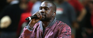 Kanye West Caught Smiling on Camera, Hilariously Stops Smiling ASAP