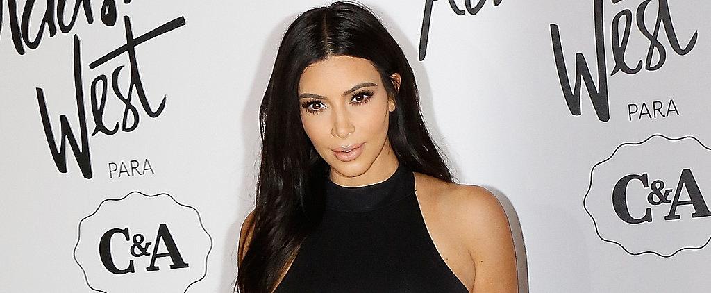 Kim Kardashian Goes Nude on TV