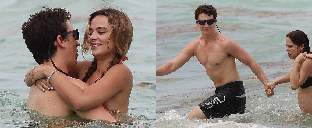 Miles Teller's Romantic Beach Day Turns Into a Rescue Mission
