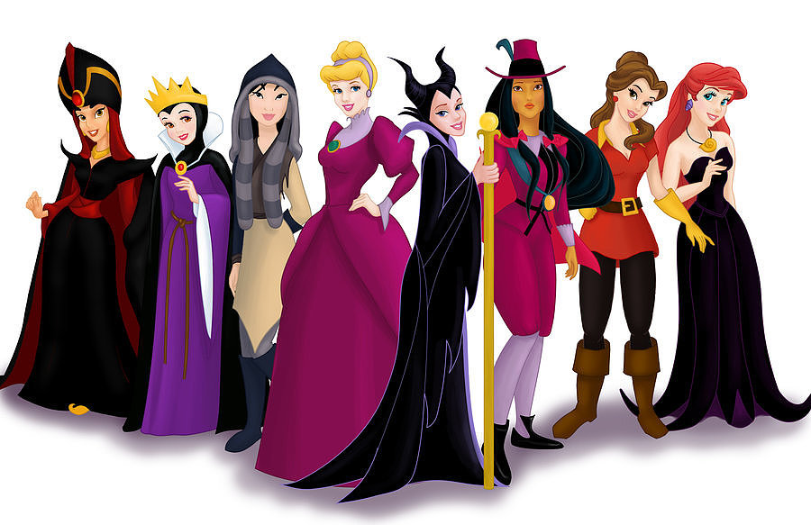 Evil Villain Disney Princess