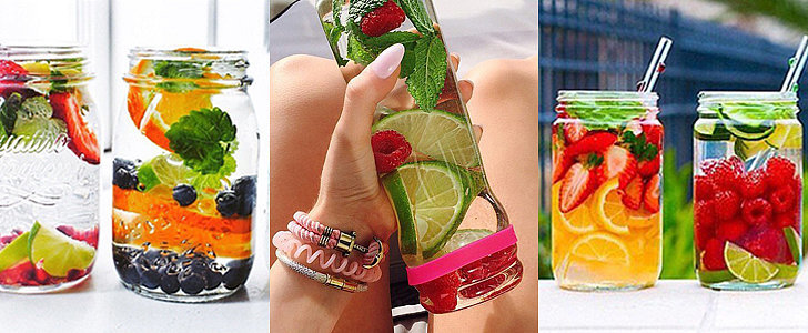 10 Ways to DIY the Best Fruit Water Ever