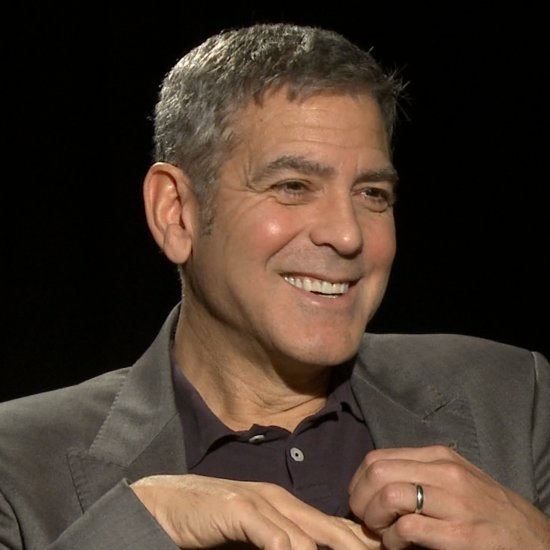 """George Clooney: Fame Has Been a """"Tough Adjustment"""" For Amal"""