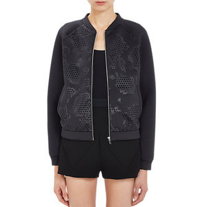 Try a Bomber Jacket This Winter