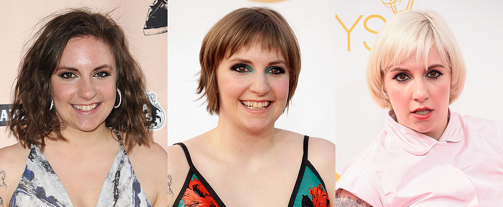 29 Times Lena Dunham Was Our Unexpected Beauty Muse