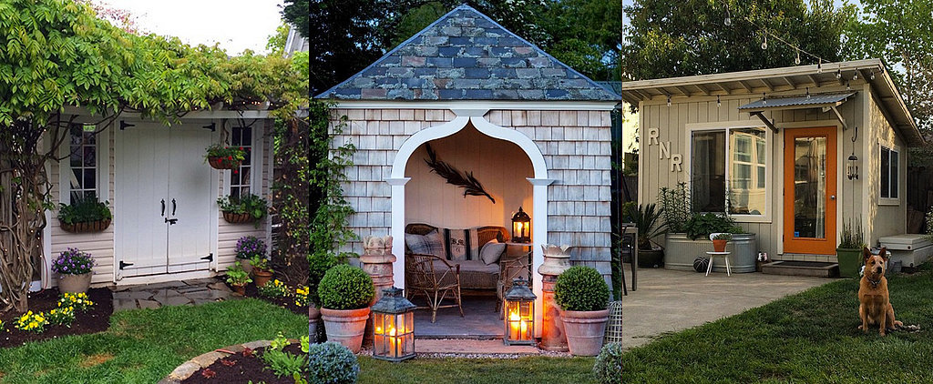 """These Supercute """"She Sheds"""" Are Redefining Backyard Bliss"""