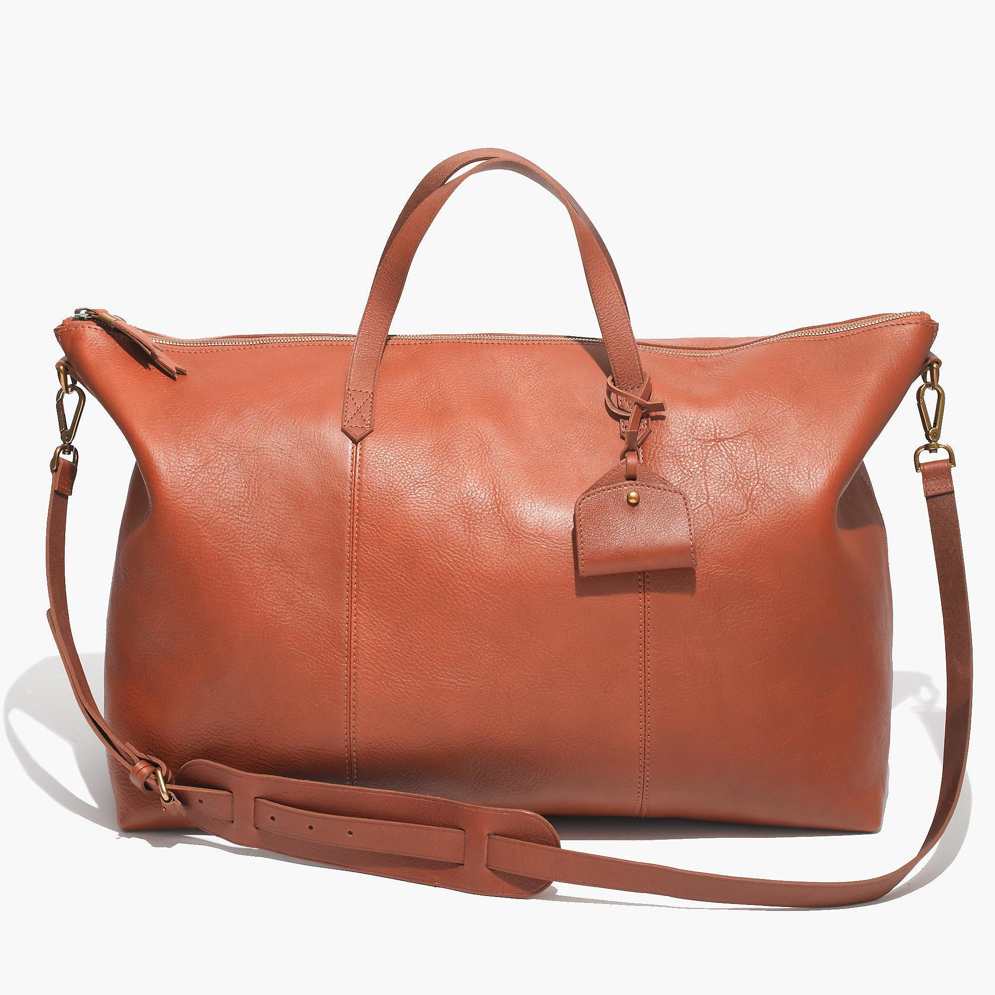 Madewell Leather Weekend Bag