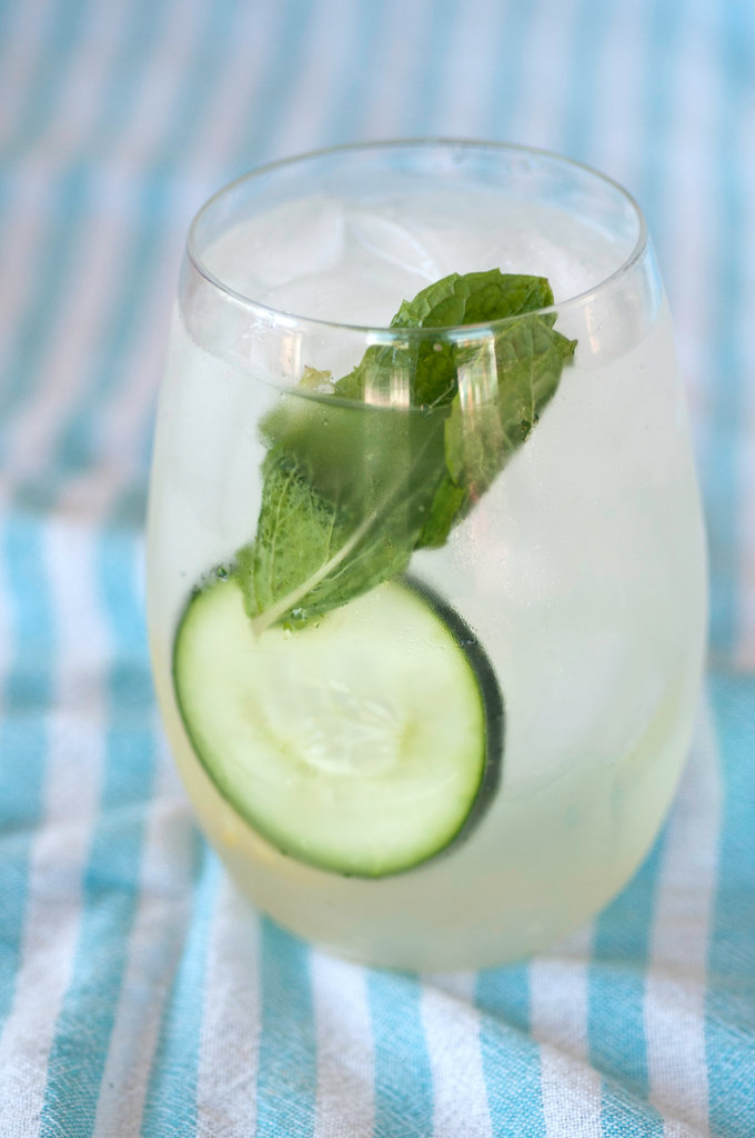 Cucumber-Lime Gimlets