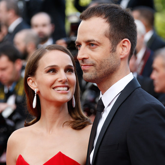 Natalie Portman and Benjamin Millepied at Cannes 2015