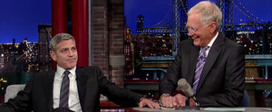 David Letterman Takes 1 Last Dig at George Clooney, and It's Good