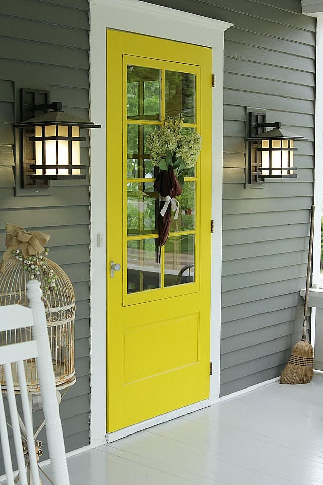 What Paint Colors To Use On Your Front Door Popsugar Home