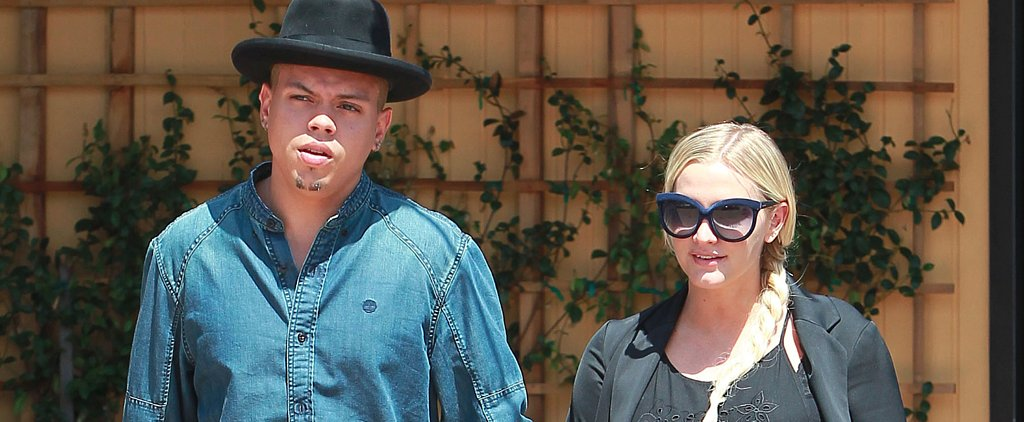 Ashlee Simpson Shows Off Her Growing Baby Bump